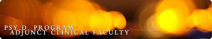 Adjunct Clinical Faculty