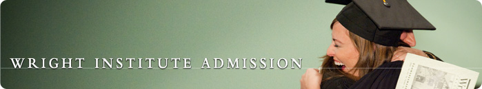 The Wright Institute Admission