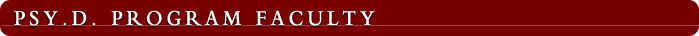 Clinical Program Faculty: Tracy Smith, Psy.D.