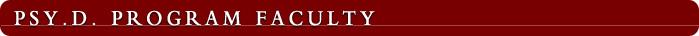 Psy.D. Program Faculty: Philip Keddy, Ph.D.