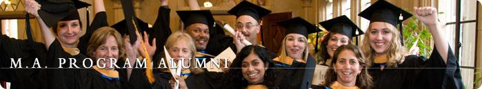 Counseling Psychology Master of Arts Program Alumni